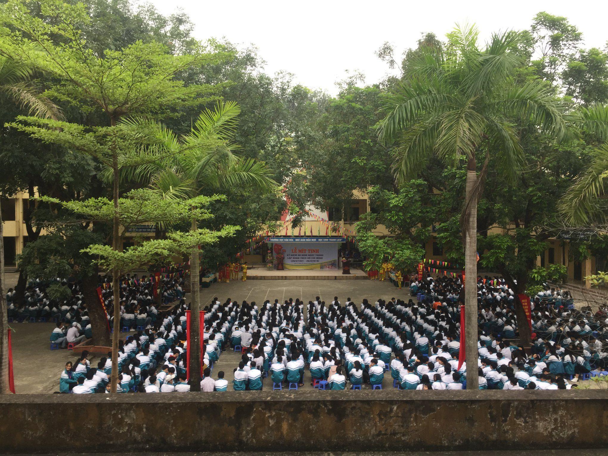 Lễ Mitinh chào mừng 88 năm ngày thành lập Đoàn TNCS Hồ Chí Minh
