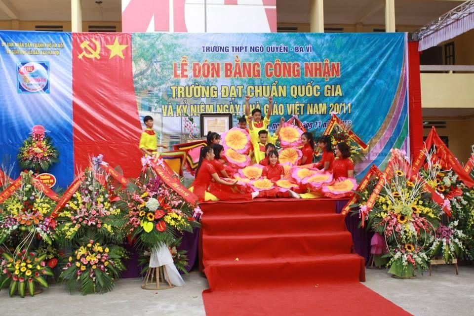 Kỉ niệm ngày nhà giáo Việt Nam 20-11